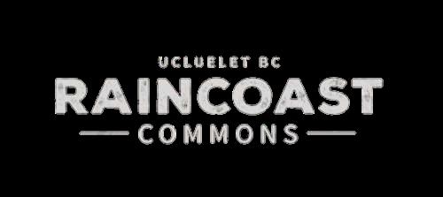Raincoast Commons white logo